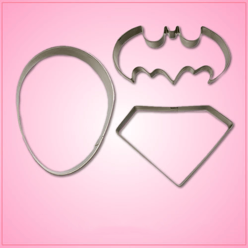Mini Superhero Cookie Cutter Set