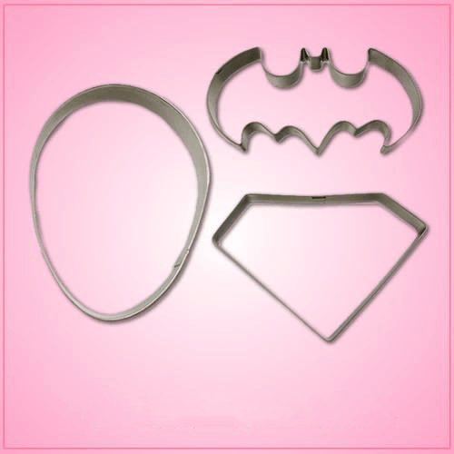Superhero Cookie Cutter Set