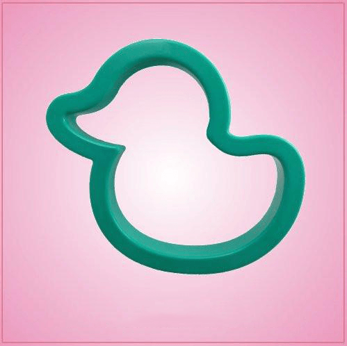 Teal Rubber Ducky Cookie Cutter