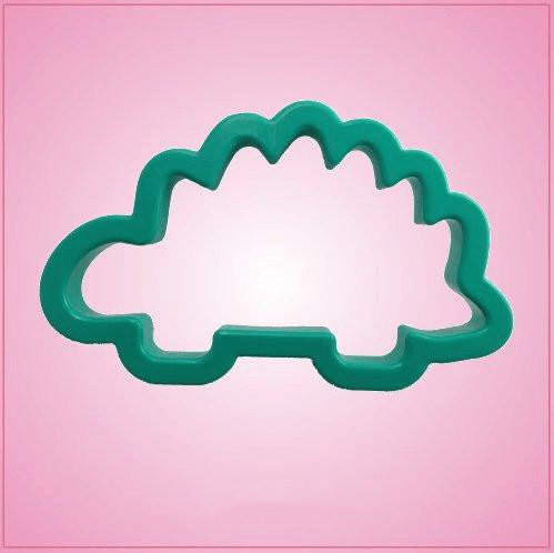 Teal Stegosaurus Cookie Cutter