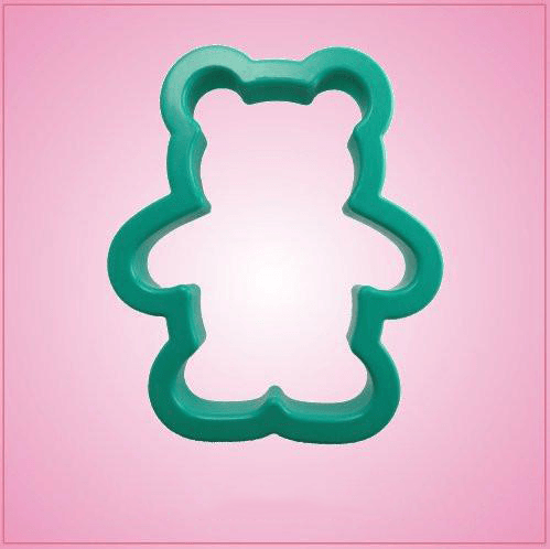 Teal Teddy Bear Cookie Cutter
