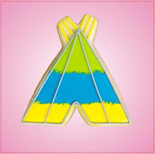 Tee Pee Cookie Cutter