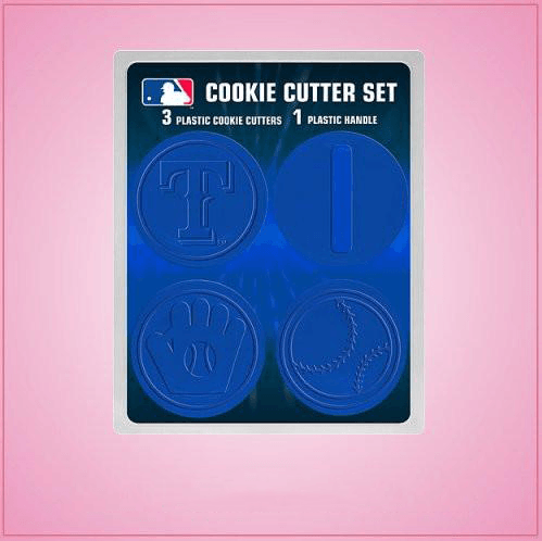 Texas Rangers Cookie Cutter Set
