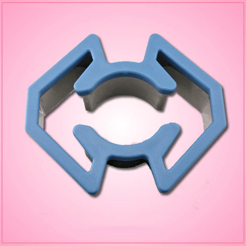 Comfort Grip Tie Fighter Cookie Cutter