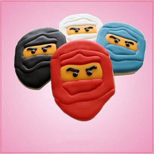 Toy Block Ninja Cookie Cutter