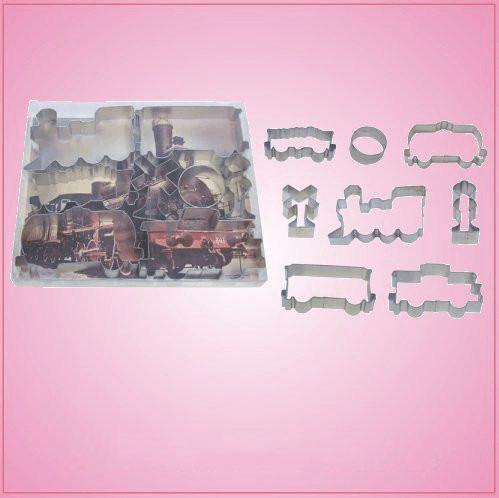 Train Cookie Cutter Set