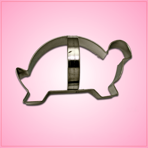 Turtle Cookie Cutter with Handle