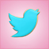 Twitter Bird Cookie Cutter
