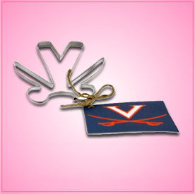 University of Virginia Cookie Cutter