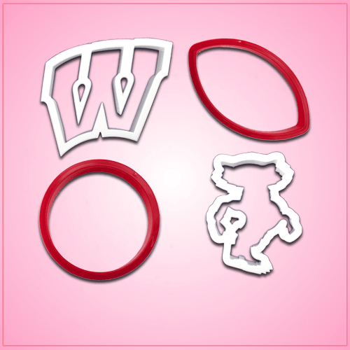 University of Wisconsin Cookie Cutter Set