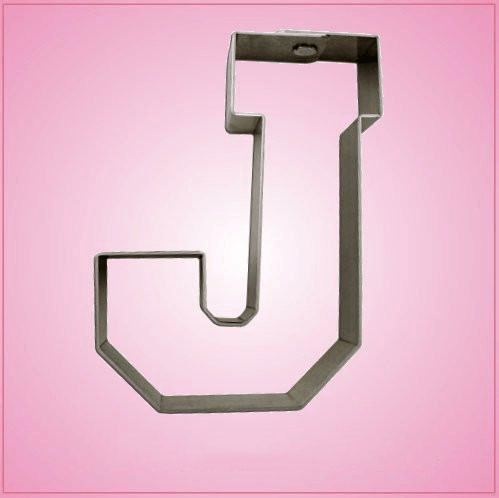 Varsity Letter J Cookie Cutter