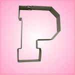 Varsity Letter P Cookie Cutter