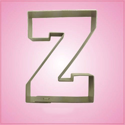 Varsity Letter Z Cookie Cutter