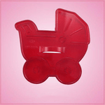 Vintage Style Baby Carriage Cookie Cutter