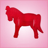 Vintage Style Circus Horse Cookie Cutter