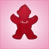 Vintage Style Gingerbread Boy Cookie Cutter