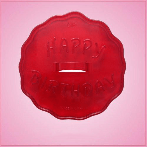 Vintage Style Happy Birthday Cookie Cutter