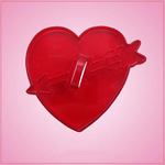 Vintage Style Heart And Arrow Cookie Cutter