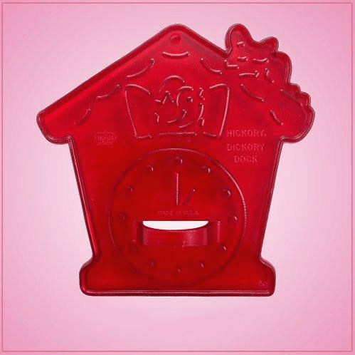 Vintage Style Hickory Dickory Cookie Cutter