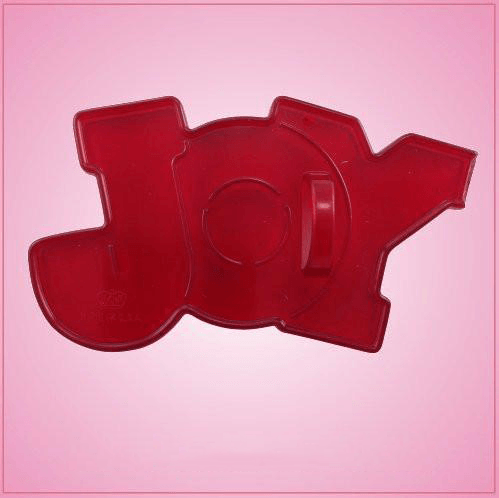 Vintage Style Joy Cookie Cutter