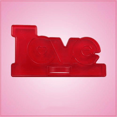 Vintage Style Love Cookie Cutter