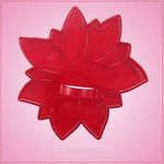 Vintage Style Poinsettia Cookie Cutter