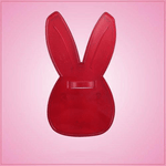 Vintage Style Rabbit Face Cookie Cutter