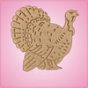 Vintage Style Tom Turkey Cookie Cutter