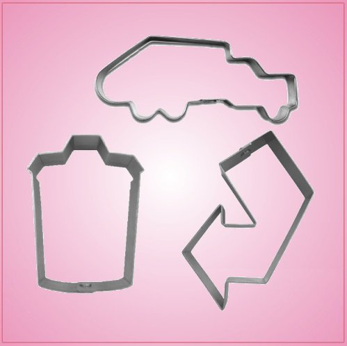 Waste Management Cookie Cutter Set