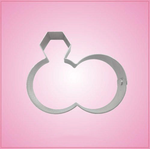 Wedding Rings Cookie Cutter