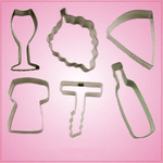 Wine Lovers Cookie Cutter Set