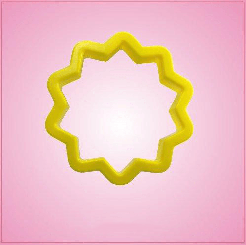 Yellow 10 Pointed Star Cookie Cutter