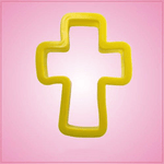 Yellow Cross Cookie Cutter