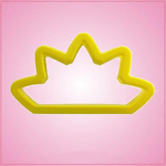 Yellow Crown Cookie Cutter