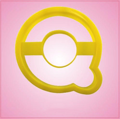 Yellow Letter Q Cookie Cutter