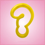 Yellow Question Mark Cookie Cutter