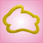Yellow Rabbit Cookie Cutter