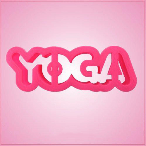 Yoga Word Cookie Cutter
