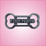 Your Name Dog Bone Cookie Cutter