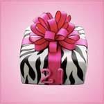 Zebra Stripe Cookie Cutter Set