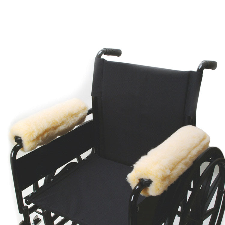 Fleece Wheelchair Arm Cushions