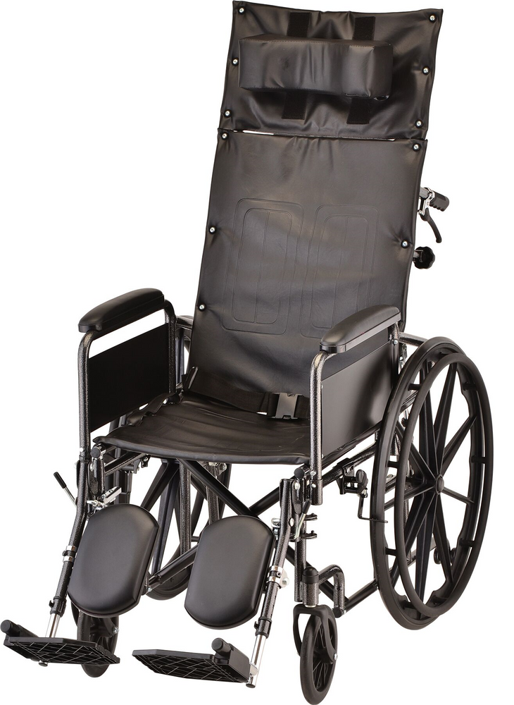 "Wheelchair Manual Reclining 16"" 6160S"