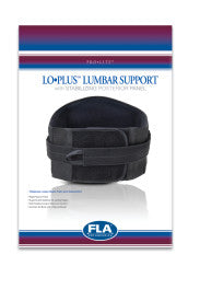 PROLITE LOPLUS LUMBAR SUPPORT BLACK