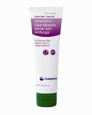 Clear Moisture Barrier With Antifungal Ointment 7572