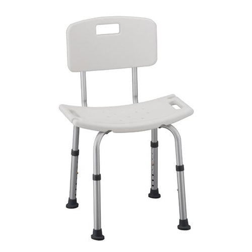 Bath Chair with Detachable Back