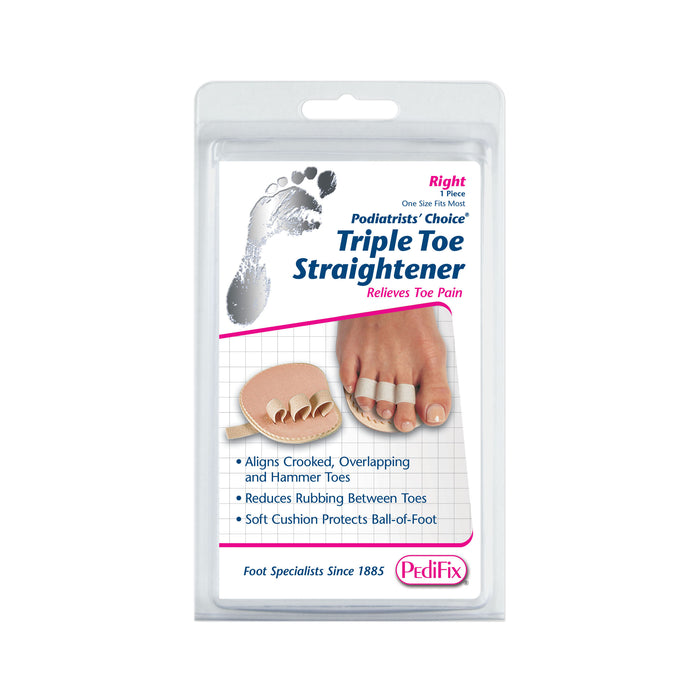 Toe Straightener Single Double Triple