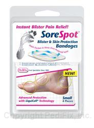SoreSpot Blister & Skin Protection Bandages (#P810)