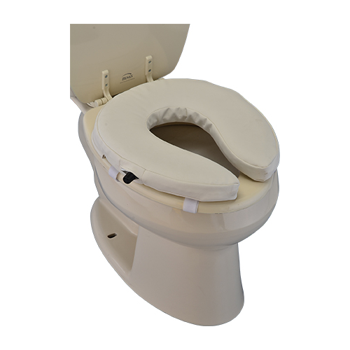 Toilet Seat Riser Easy Air Padded