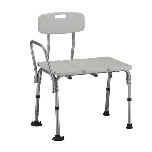 Transfer Bench Chair with Back Economy