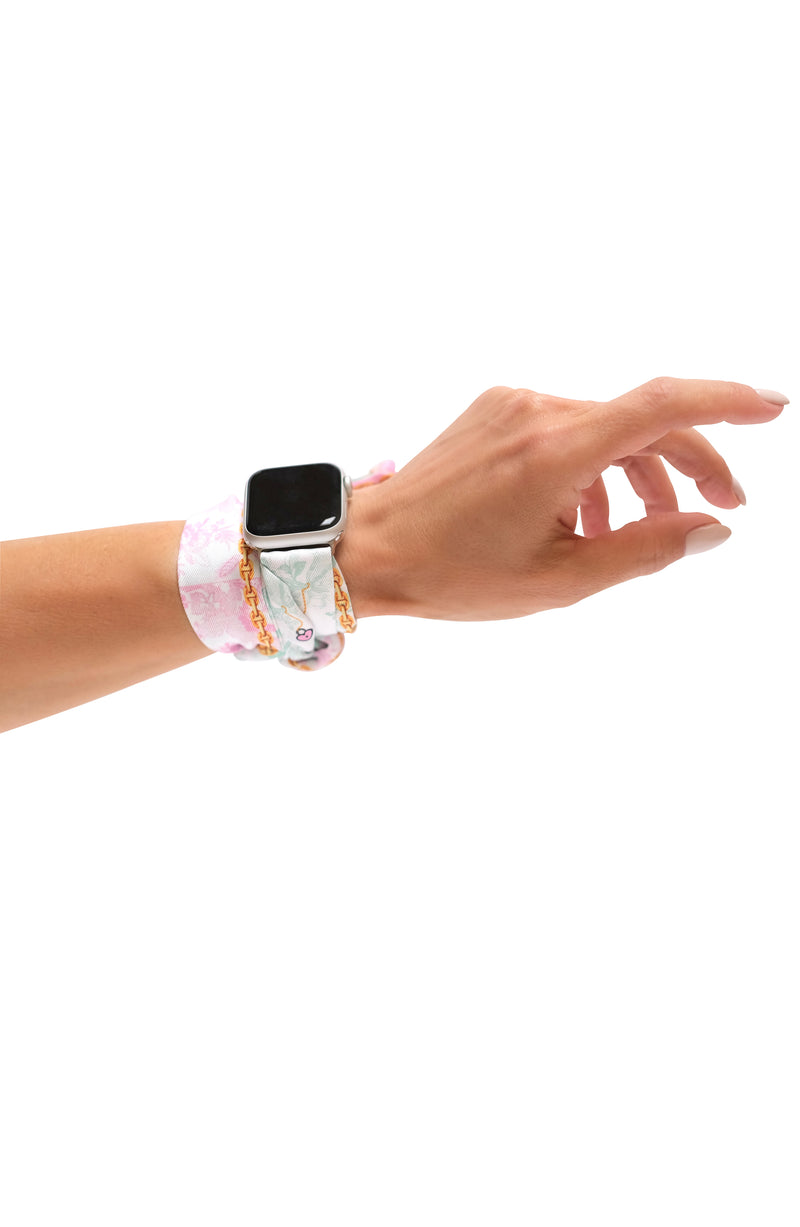 JARDIN APPLE WATCH BAND (CONNECTORS INCLUDED)